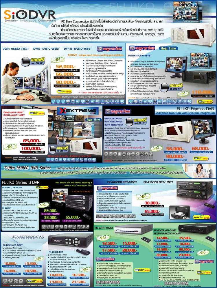 FUJIKO CCTV PC Base Compression กล้องวงจรปิดฟูจิโกะ