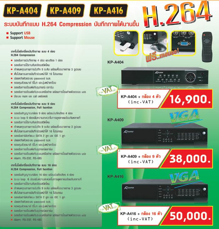 KENPRO KP-A404 KP-A409 KP-A416